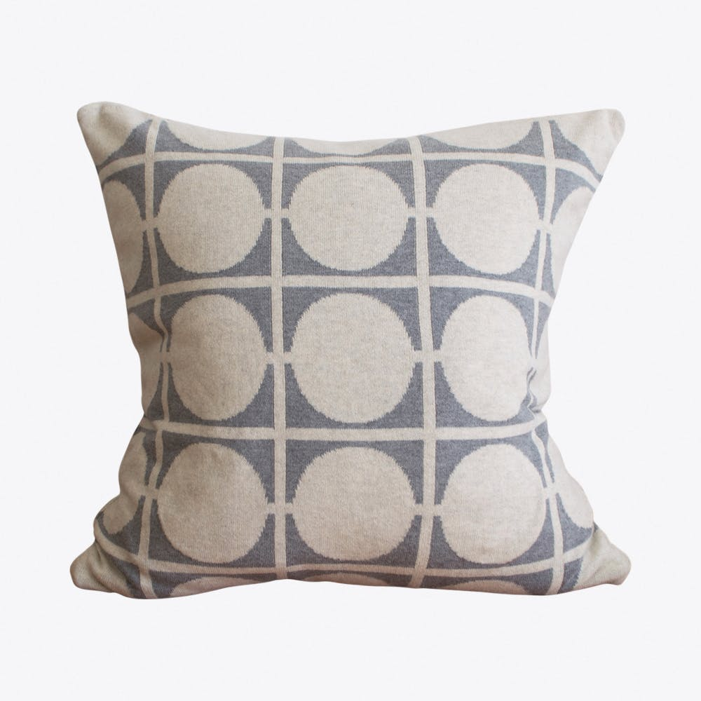 Don Light Grey Cushion Cover