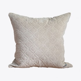 Alma Cream Cushion Cover