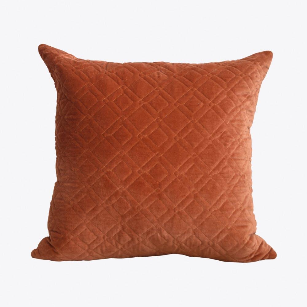 Alma Warm Orange Cushion Cover