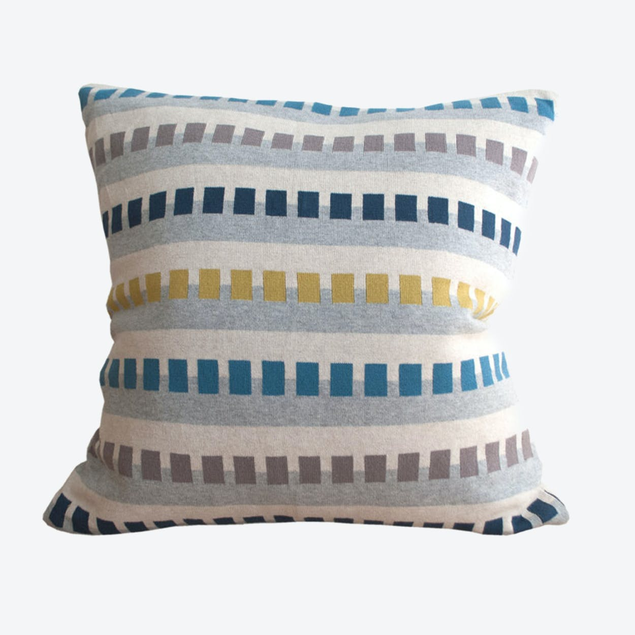 Birk Cushion Cover in Dark Blue