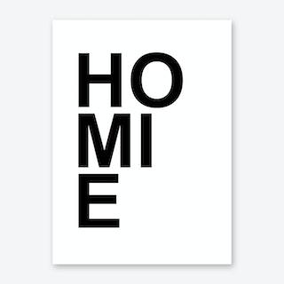 Homie Art Print
