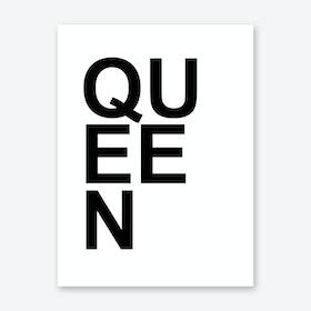 Queen I Art Print