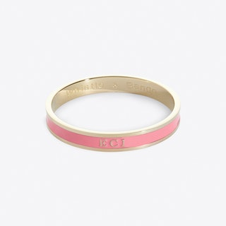 Shoreditch Postcode Bangle In Foliate