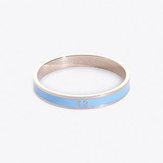 Bethnal Green And Shoreditch Postcode Bangle In Ivy Green