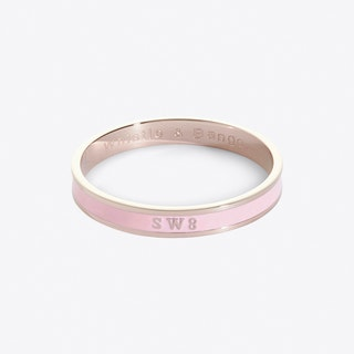 Nine Elms Postcode Bangle In Roseate