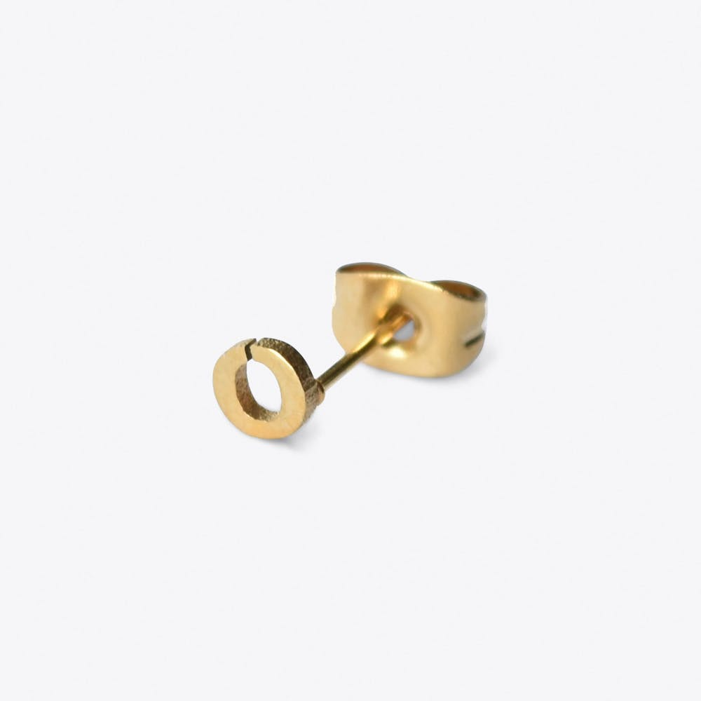 """O"" 18ct Quintessential Single Earring"