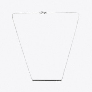 Silver Bar Necklace I