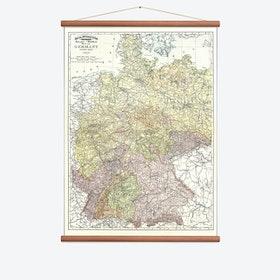 Germany Wall Map