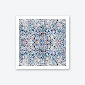 Looking Blue Art Print