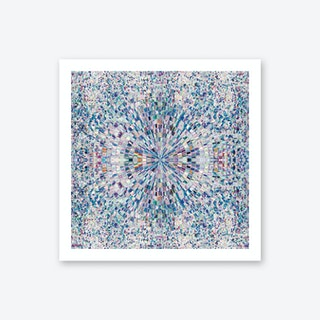 Looking Blue Art Print