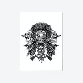 The Regal Lion Fine Art Print
