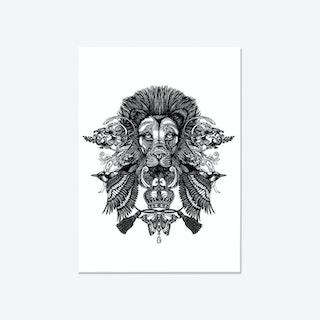 The Regal Lion Fine Art Print