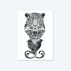 The Tropical Leopard Fine Art Print