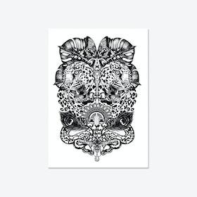 Jewel & Jaguar Fine Art Print