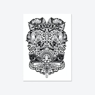 Jewel & Jaguar Fine Art Print