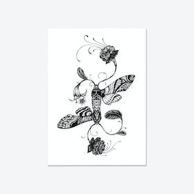 Fuchsiadoptera Fine Art Print