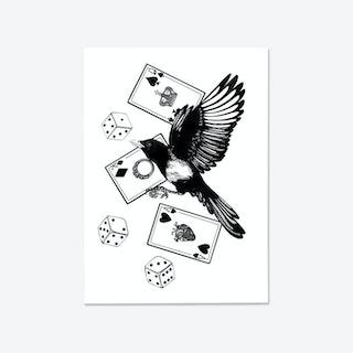 Poker Life Fine Art Print