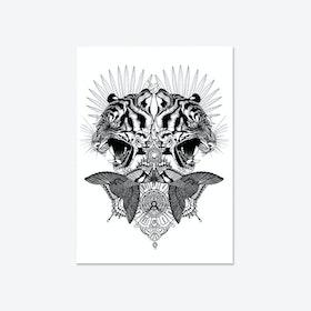 Baroque Tiger Fine Art Print