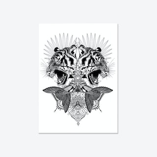 Baroque Tiger Fine Art Print