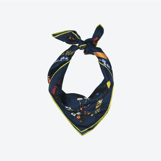 Cat Sauvage Scarf / Midnight