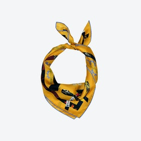 Cat Sauvage Scarf / Sun