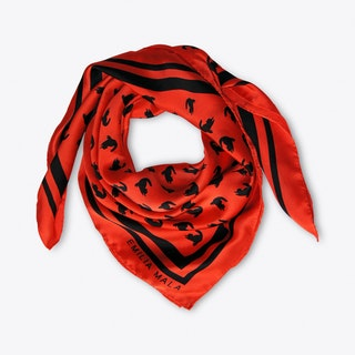 Emma Scarf In Red And Black