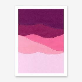 Colores I Art Print