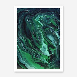 Galaxy Eyes Art Print Nebula