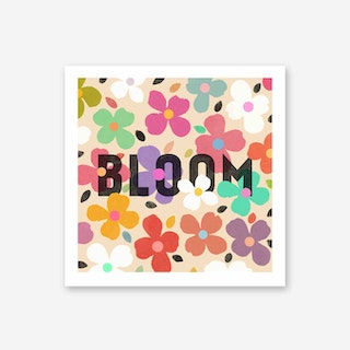 Galaxy Eyes Art Print Bloom Collab
