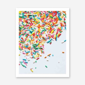 Galaxy Eyes Art Print Sprinkles I