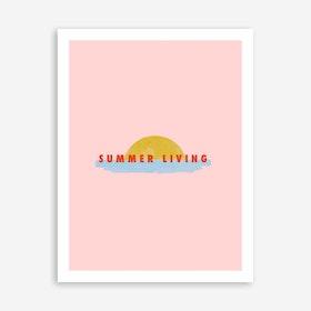 Galaxy Eyes Art Print Summerliving