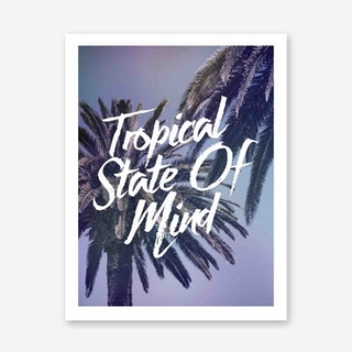 Galaxy Eyes Art Print Tropical State Of Mind