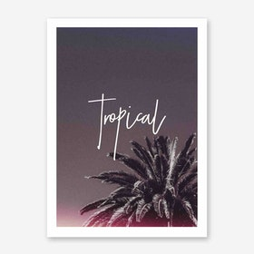 Galaxy Eyes Art Print Tropical16