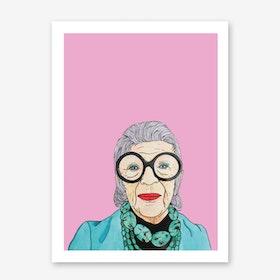 Iris Apfel Art Print
