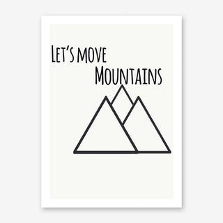Mountains III Art Print