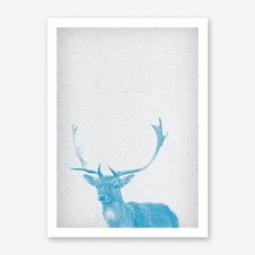 Hirsch I Art Print