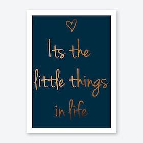 Littlethings III Art Print