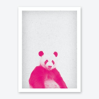 Frolein Panda II Art Print