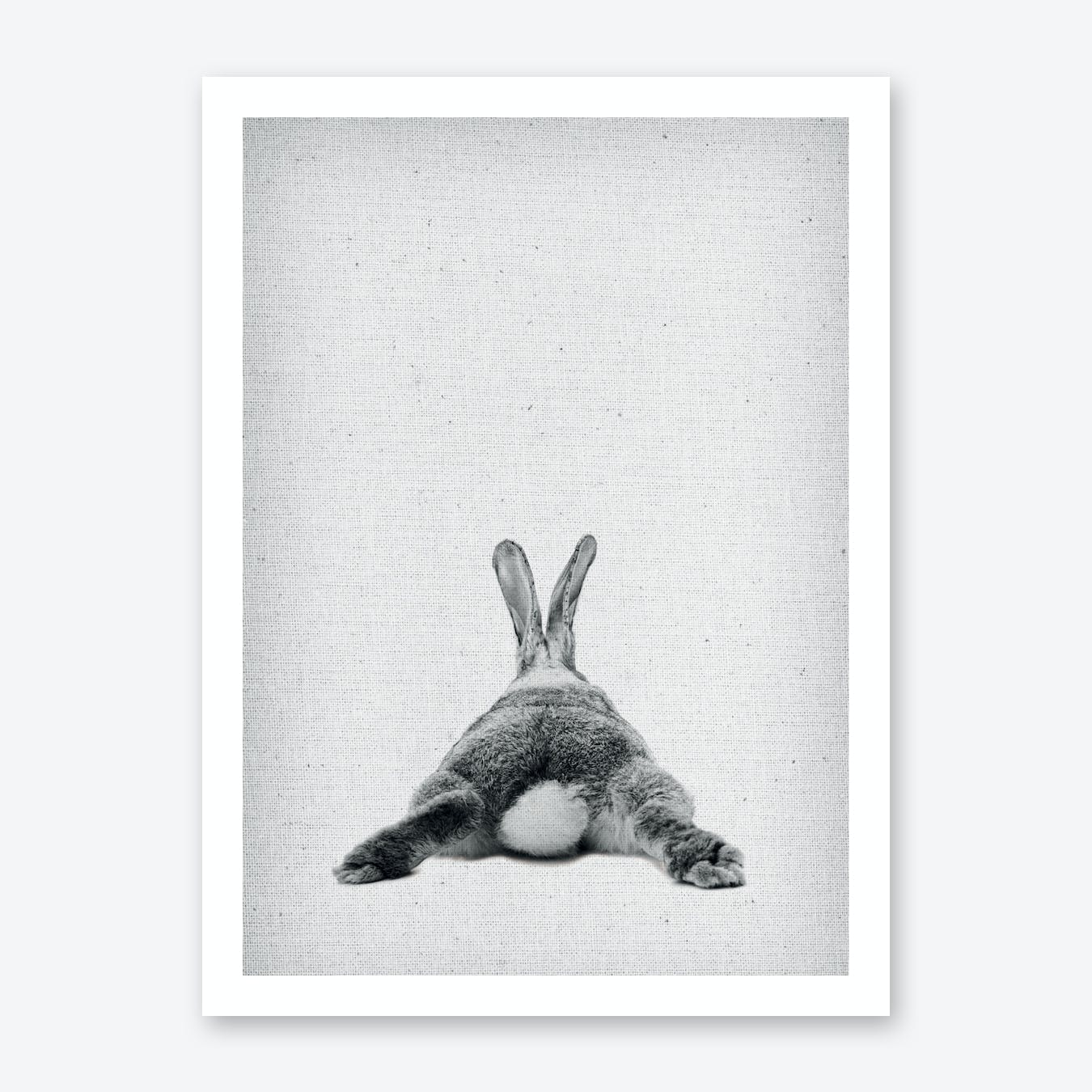 Frolein Rabbit III Art Print