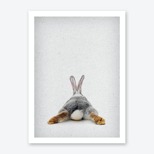 Frolein Rabbit IV Art Print