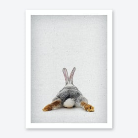 Frolein Rabbit IV Art Print