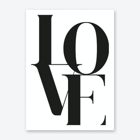 Love II Art Print