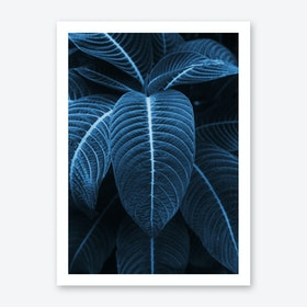 Leaf Me Alone I Art Print