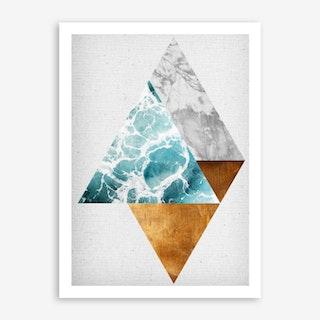 Copper I Art Print