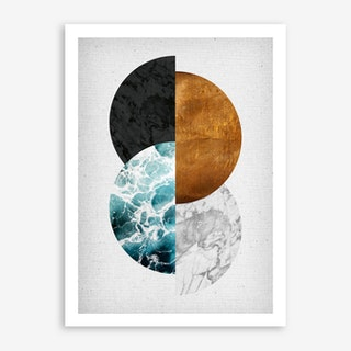 Copper II Art Print