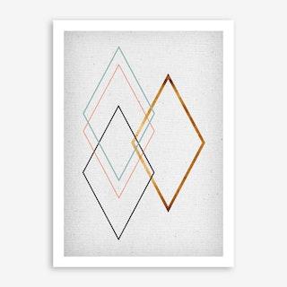 Diamond I Art Print