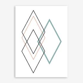 Diamond II Print