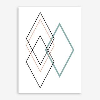 Diamond II Art Print