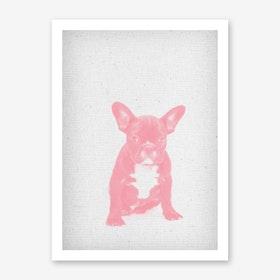 Bulldoge I Art Print
