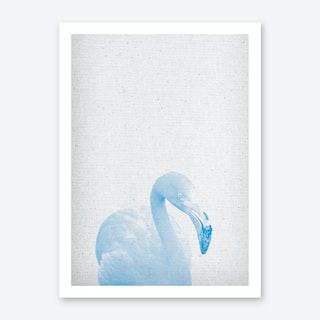 Froilein Flamingo IV Art Print